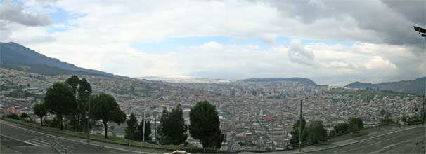 Quito from Panecillo